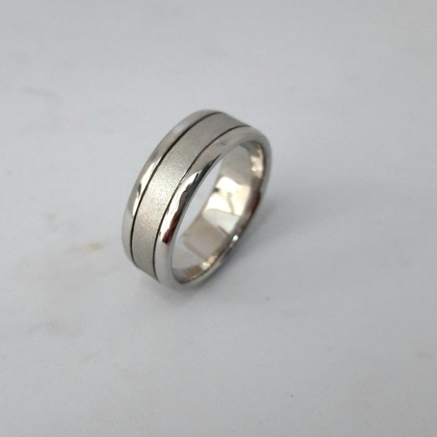 Gents 6mm Wide Band