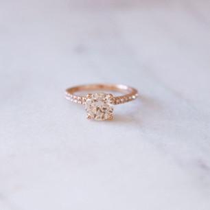 Champaign Diamond Ring