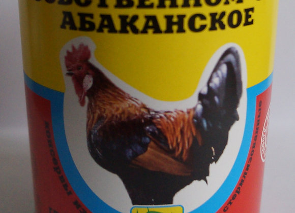 """Мясо птицы в собственном соку """"Абаканское"""""""