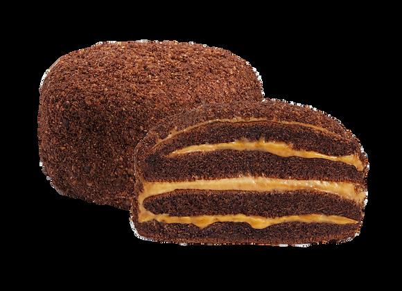 "Мини-тортик ""Бисквитное солнце"" со вкусом шоколада"