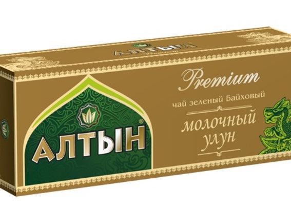 """Чай """"Алтын"""" Премиум Молочный улун"""
