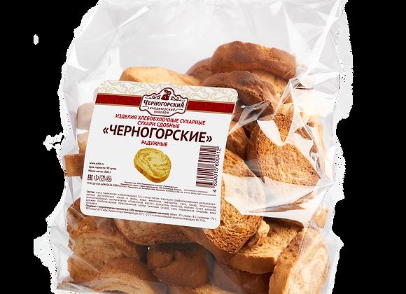 """Сухари """"Черногорские"""" радужные"""
