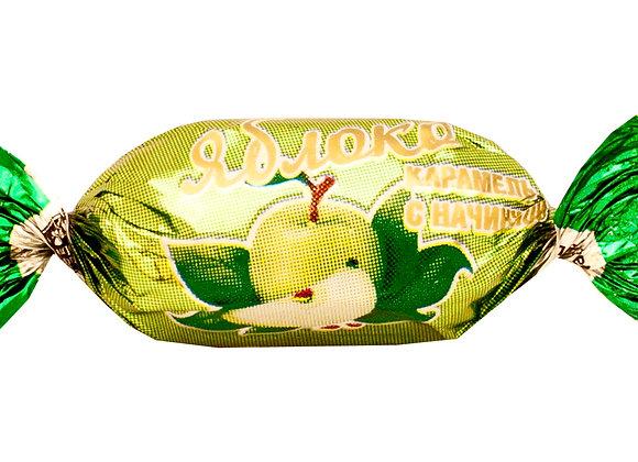"""Карамель с фруктовой начинкой """"Яблоко"""""""