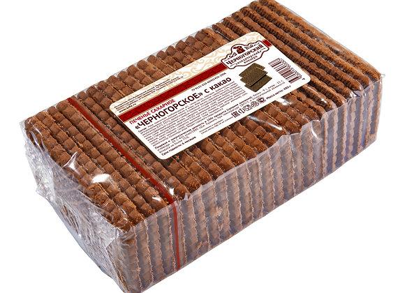 """Сахарное печенье  """"Черногорское"""" с какао"""