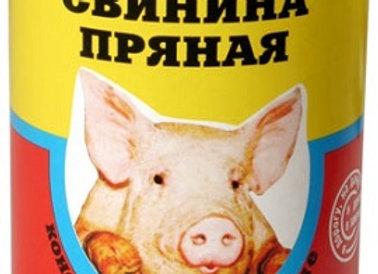 Свинина пряная