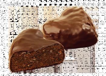 """Сдобное печенье  """"Симфония сердца"""" в шоколаде"""