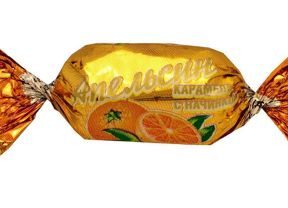 """Карамель с фруктовой начинкой """"Апельсин"""""""