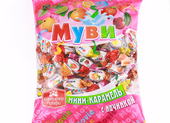"Мини-карамель леденцовая ""Муви"" микс"
