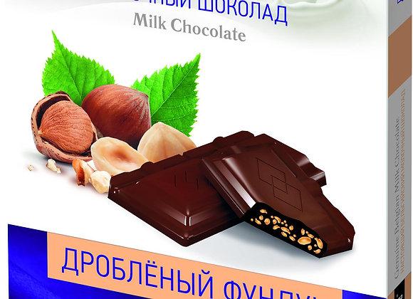 """Шоколад """"Sun milk"""" с дробленым фундуком"""