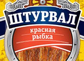 Красная рыбка солено-сушеная