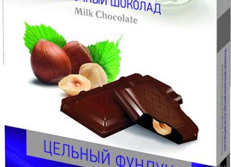 """Шоколад """"Sun milk"""" с цельным фундуком"""