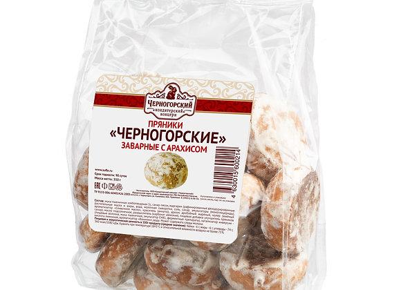 """Пряники """"Черногорские"""" заварные с арахисом"""