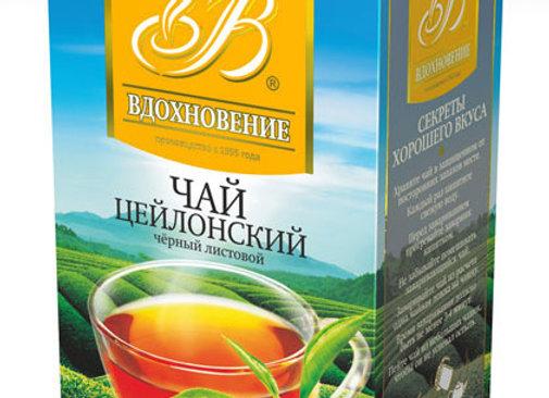"""Чай весовой """"Вдохновение"""" Цейлонский черный"""