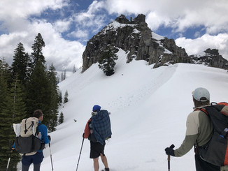 Snow on the Pacific Crest Trail