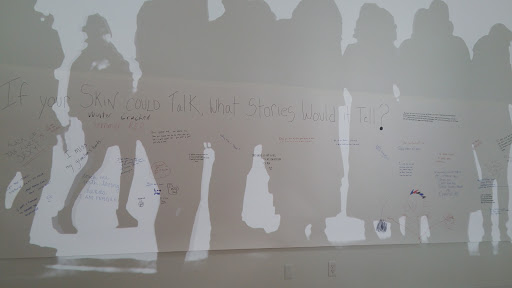 """""""Your Story"""" wall"""