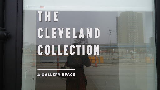 The gallery space