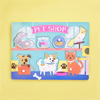 Pet Shop Peg Puzzle