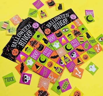 Halloween Bingo Party Game