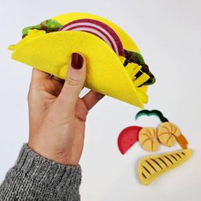 Felt Taco Toy
