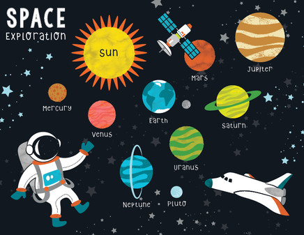 Space Exploration Styleguide