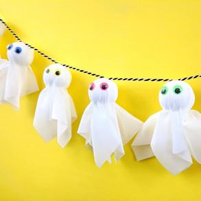 Halloween Ghost Garland