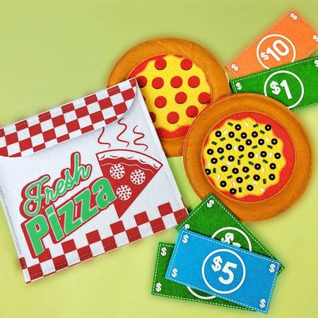 Felt Pizza Shop Toy