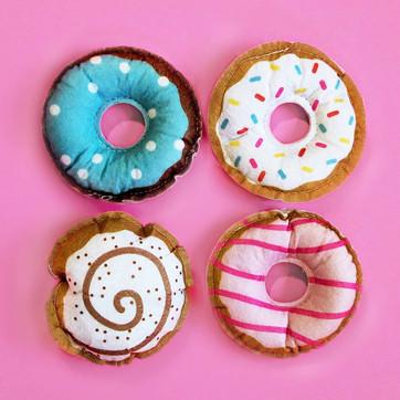 Felt Doughnut Toys