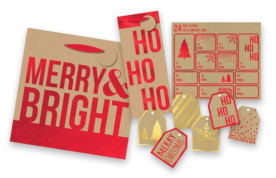 Christmas Foil Gift Assortment
