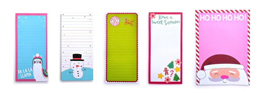 Christmas Notepads