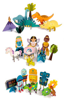 3D Buildable Playsets