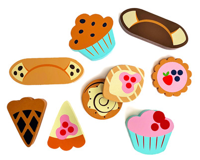 Wooden Pastry Toys