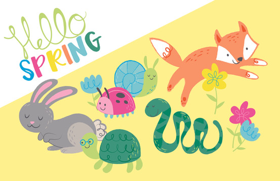 Spring Critters Styleguide