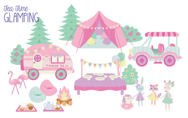Tea Time Glamping Styleguide