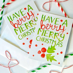 Berry Merry Christmas Cards