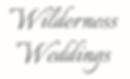 Wilderness Weddings logo.png