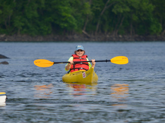 Dragon Rays in Kayaks this Fall