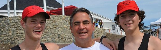 PVRC rowers with Mayor Sarno