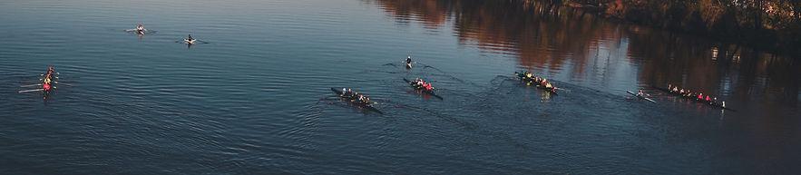 PVRC floatilla on Rowathon day