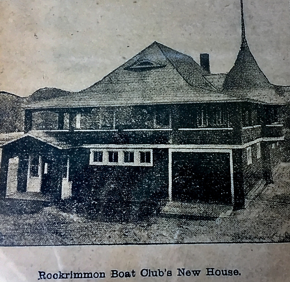 Rockrimmon Boathouse in its early days