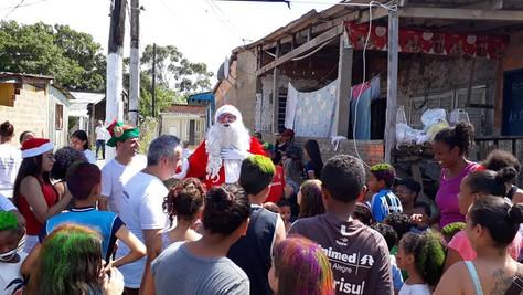 16/12 Festa das 1.000 crianças - Vila Marabá