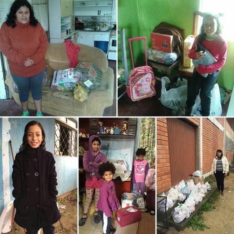 Domingo de trabalho e doação