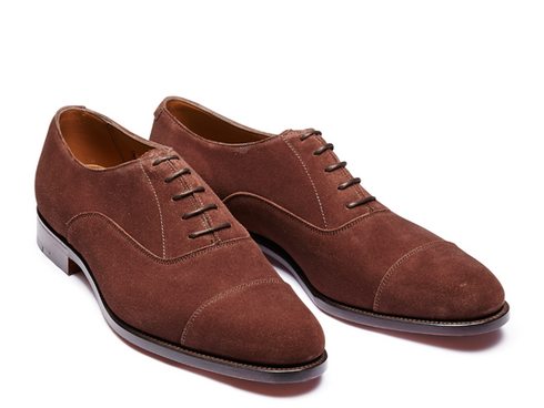 Alfred Brown Suede