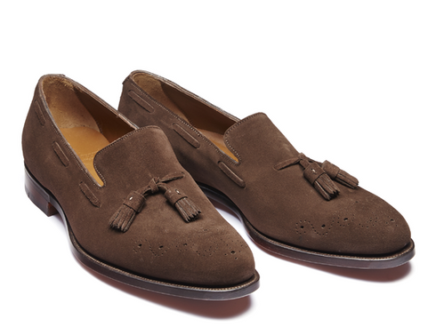 Angus Brown Suede