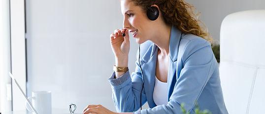 customer-service-operator-talking-on-pho
