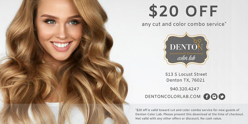 Denton Color Lab Coupon