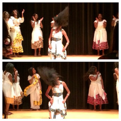 Facebook - Had to whip my hair real quick for that Oromigna song  #irep2014 #wma
