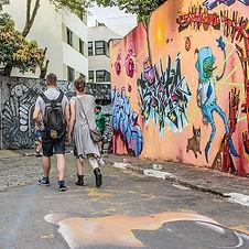 Städtische Straßenkunst