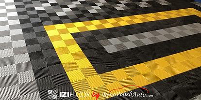 dalle-de-sol-garage-Izifloor-jaune-noir-