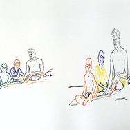 Poposki, On the beach (Eugene O'Neill)