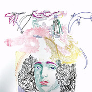 Poposki, Postcard to Franz (Spinoza), 2015